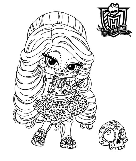 all about monster high dolls baby monster high character