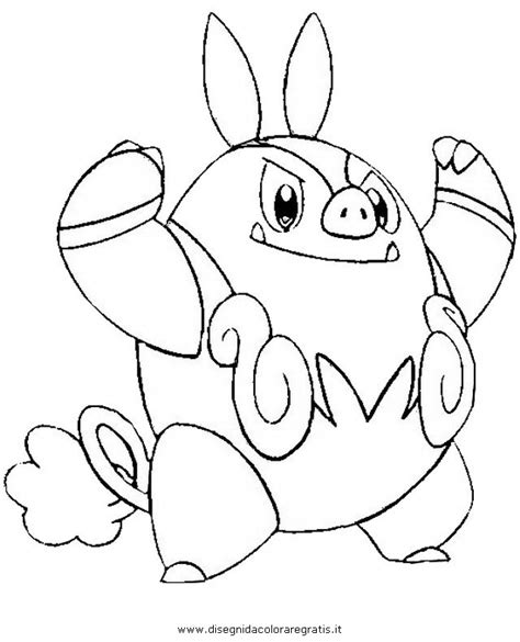 pokemon coloring pages pignite pokemon tepig coloring pages images pokemon images