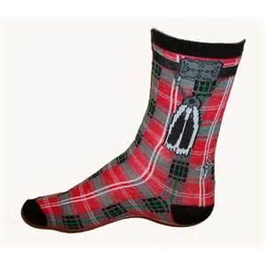 tartan kilt socks
