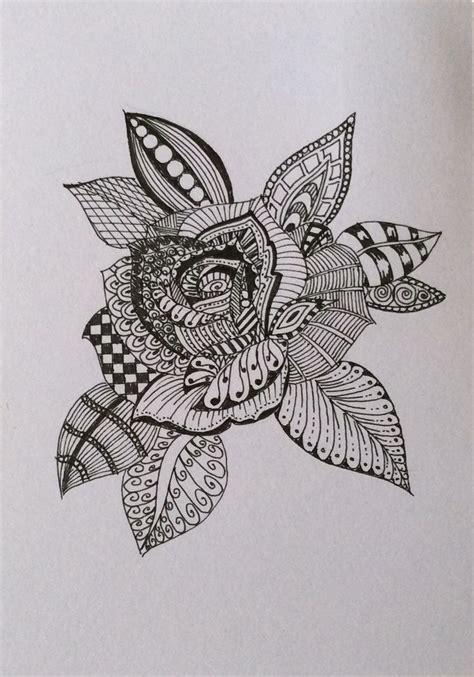 zentangle pattern rose 1000 images about zentangle zendoodle mandalas kolams on