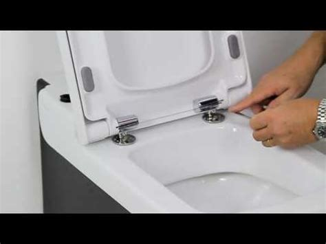 fitting a bidet toilet seat how to install a soft close toilet seat youtube