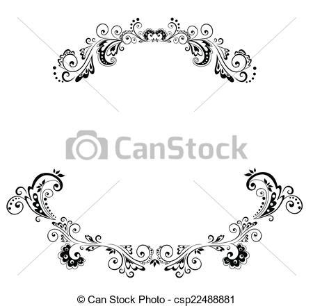 Wedding Arch Drawing by Vector Of Wedding Arch Csp22488881 Search Clip