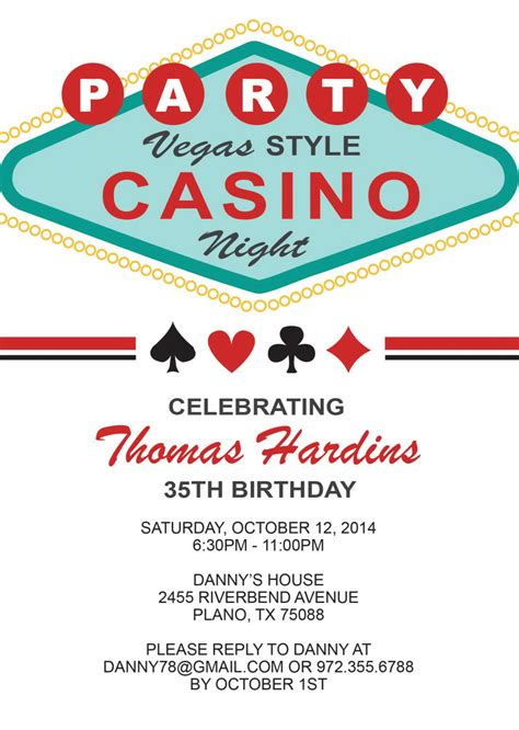las vegas themed invitation wording las vegas birthday invitation birthday by