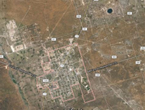 sinkholes in texas map seperate sink holes in west texas could combine