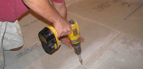 Best Way To Level A Floor In An House by Installing Tile A Wood Subfloor Today S Homeowner