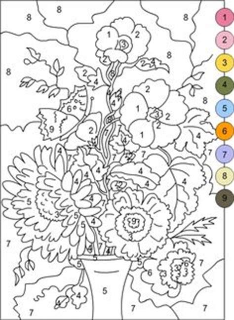 giochi di fiori gratis colora coi numeri i fiori disegni da colorare e stare