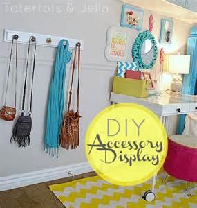 Diy Rooms Make A Diy Accessory Display