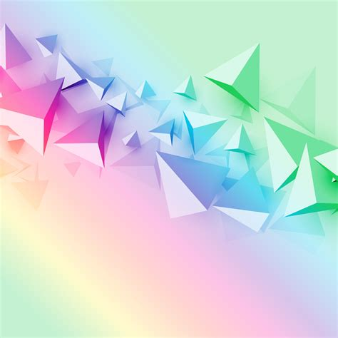 vector background colorful background with 3d polygon triangle shapes