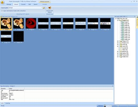 tutorial flash decompiler flash 3rd party how to extract swf elements with flash