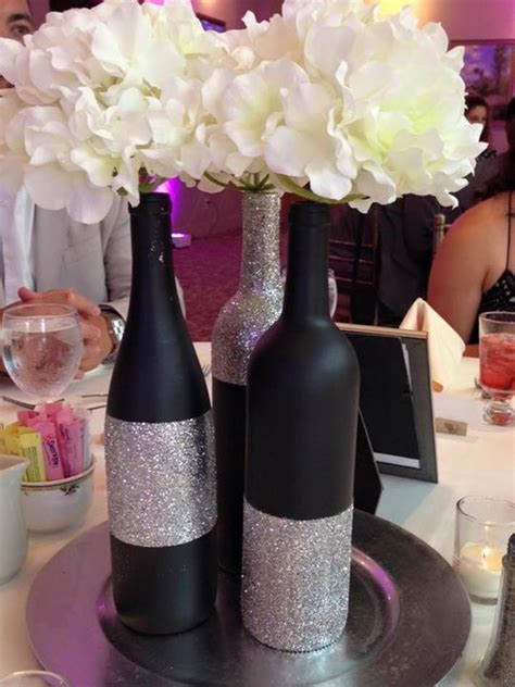 wine bottle centerpiece ideas 28 wine bottle centerpieces for every occasion shelterness