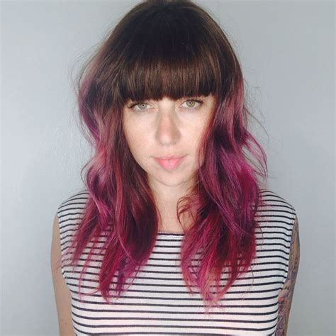 25 best ideas about raspberry hair on