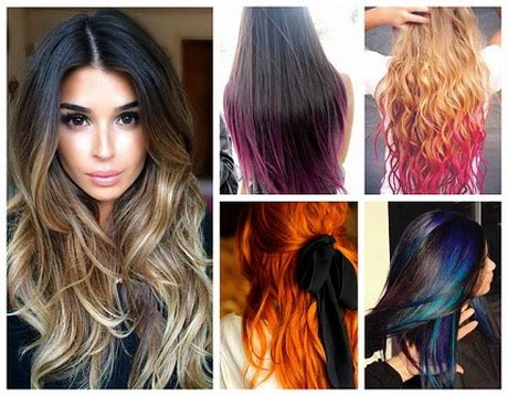 what is new with color 2015 for hair new hair color trends 2016
