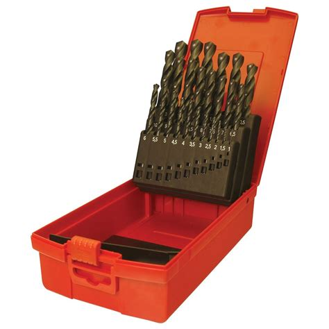 Dormer Drill Sets dormer a190 no 206 29 high speed steel drill set in metric a190206 discount trader