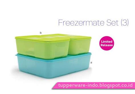 Freezermate 1 5l Tupperware freezermate set 3 tupperware indonesia promo november 2016