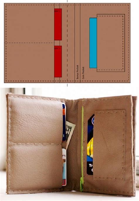 leather wallet pattern pinterest leather wallet sewing pattern www pixshark com images