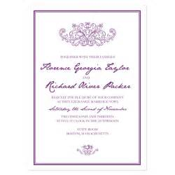 format of wedding invitation card in georgina invitation sle crafty pie press
