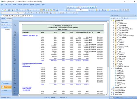 sap reports tutorial sap crystal reports clearify