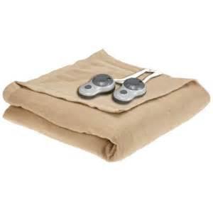 beheizbare decke sunbeam electric heated warming blanket ebay