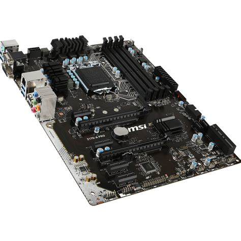 Msi Z170 A Pro msi z170 a pro lga1151 atx motherboard z170 a pro b h photo
