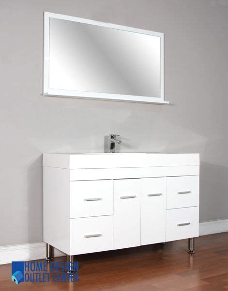 vanity home design outlet center at 8042 w 47 quot single modern bathroom vanity set white home design outlet center at 8042 w