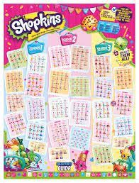 Lipstick Birthday Edition Seri A 1 shopkins season 2 collectors guide checklist