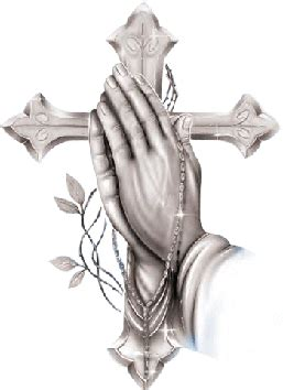 Praying Hands With Rosary Beads Clip Art Pictures And Praying With Rosary And Cross