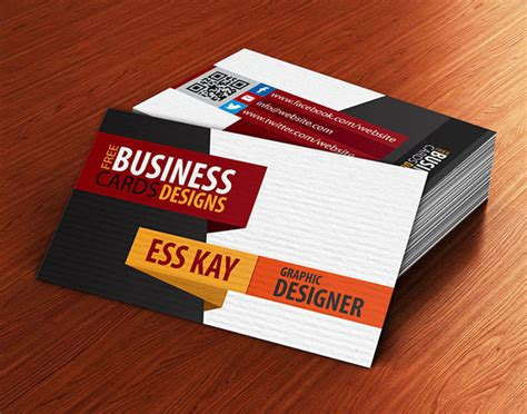 visiting card design templates free free business cards psd templates print ready design