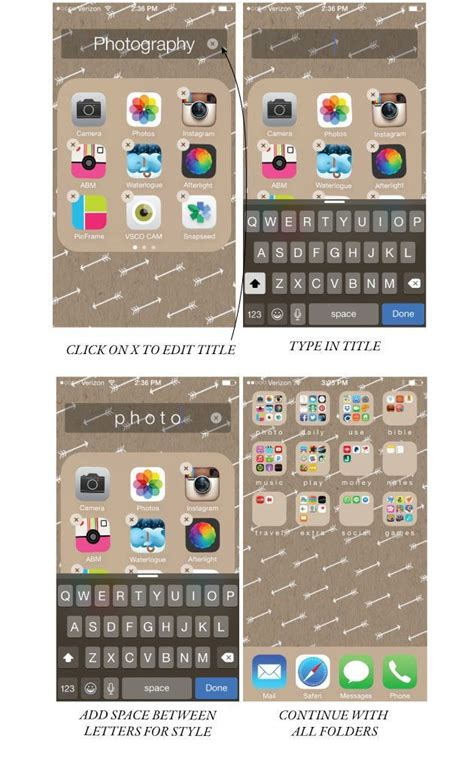 organise or organize how to organize your iphone screen and make it look