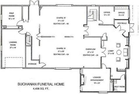 building plans homes free awesome funeral home floor plans new home plans design