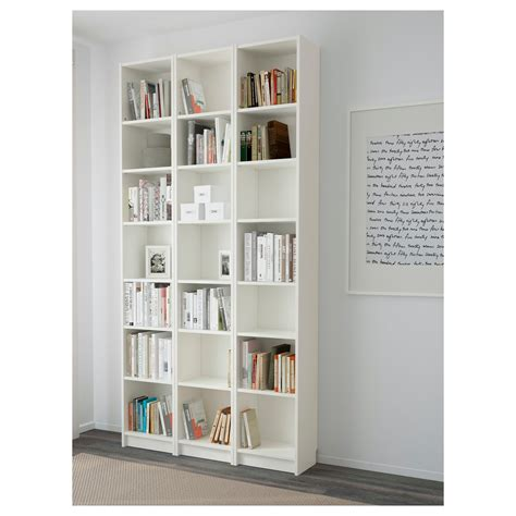 Billy Bookcase White 120x237x28 Cm Ikea Ikea Bookcase White
