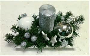 florist in rome silver artificial christmas centerpieces