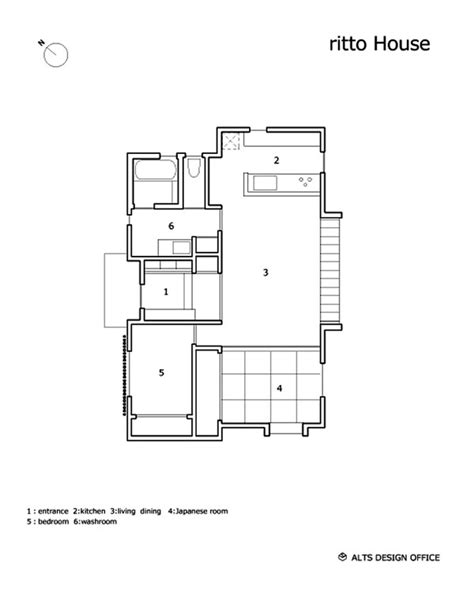 Japanese Small House Design Plans Minimalist 778 Sq Ft Japanese Family Small House