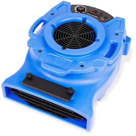 air blower fan b air 1 4 hp low profile air mover for water damage