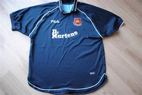 Dr Martens West Ham United Tees west ham united football shirt fila dr martens whu