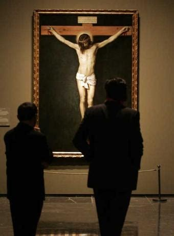 velazquez christ on the cross crucifixion blog of the courtier