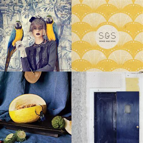 blue and yellow color scheme cobalt blue and yellow color scheme vintage inspiration