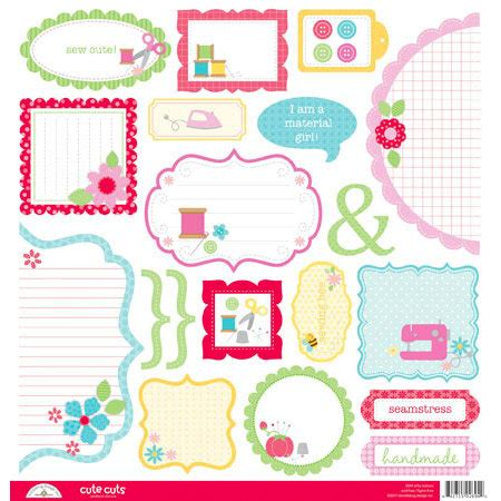 doodlebug nifty notions doodlebug design nifty notions collection cuts
