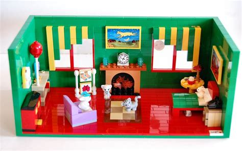 lego baby room lego moc recreation of the baby bunny s room pictured in the book goodnight moon my lego