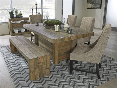 Dining Room Table Seats 8 by Sommerford Table Amp 4 Chairs Ashley Home Store