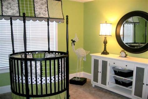 unique baby cribs for adorable baby room 26 round baby crib designs for a colorful and cozy nursery