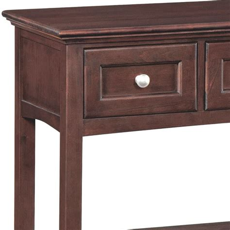 Wood Entry Table Whittier Wood Sofa Entry Table