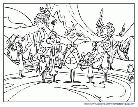 grinch coloring pages grinch whoville coloring pages whoville