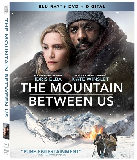 film the blu the mountain between us hits blu ray and dvd on december