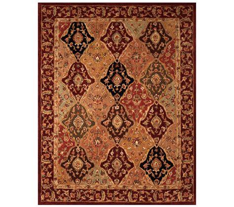 qvc royal palace rugs royal palace classic tabriz 7 x9 handmade wool rug qvc