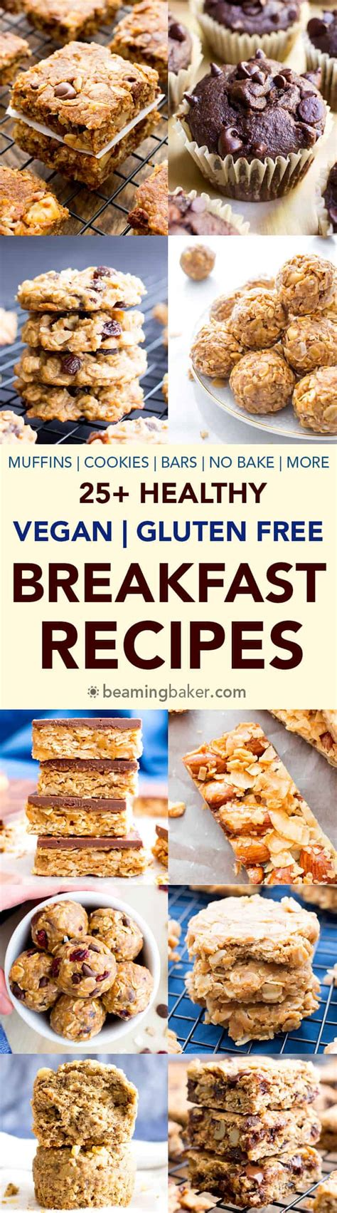 gluten free vegan breakfast recipes 25 healthy gluten free breakfast recipes vegan gf
