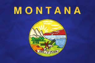 Montana Flag Of Montana With Paper Texture Download It For Free