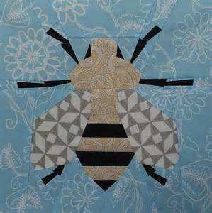 paper pieced honey bee your pet bed quilting