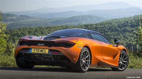 orange mclaren rear 2018 mclaren 720s color azores orange rear hd