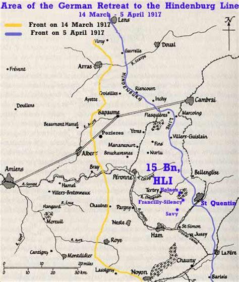 the hindenburg line 1918 pte charles d gray c coy 15th hli