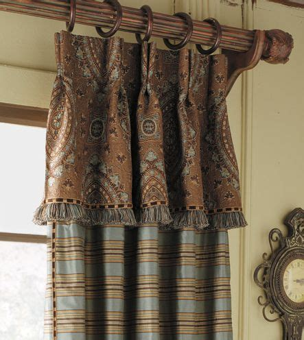 Curtains With Pelmet Attached Marquette Heights Waterfall Valance Drapery Panel 570 Pinch Pleated Attached Valance With